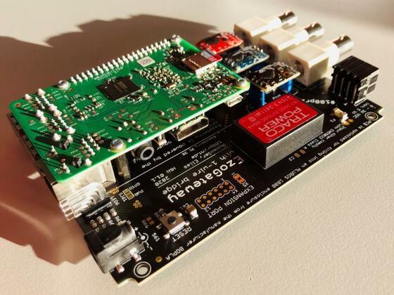 Erstes in Hardware aufgebautes EzoGateway