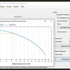 Berechnung Volumenstrom mit Astral Multiflow ELD nicht erweitert (14 mm)