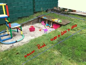 Mein Garten... mein zukunftiger Pool