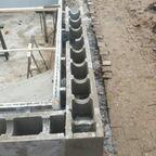 Terrassenseite  25er schalungssteine