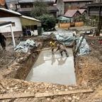 Bodenplatte betonieren