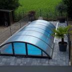 Jetzt noch das Dach drauf und den Zaun gesetzt.....fertig!!!