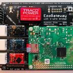 Erstes in Hardware aufgebautes EzoGateway (Top Ansicht)