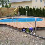 Garten und Pool Endlich fertig